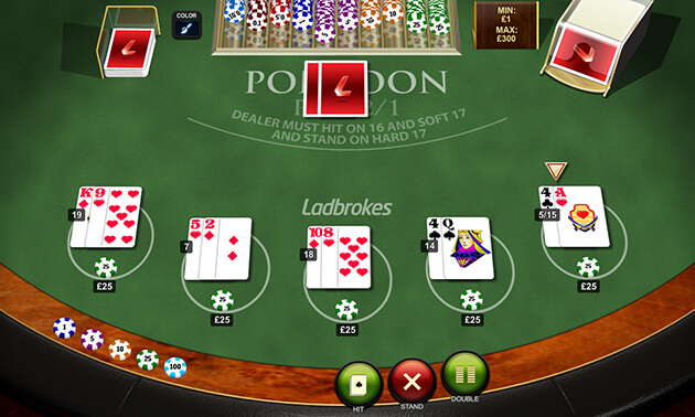 Pontoon Pro Low Limit Jogo De Casino Online