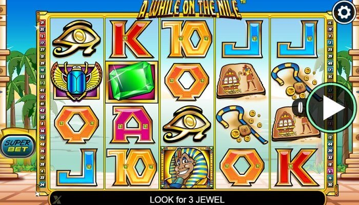 Introducción a A While on the Nile Slots